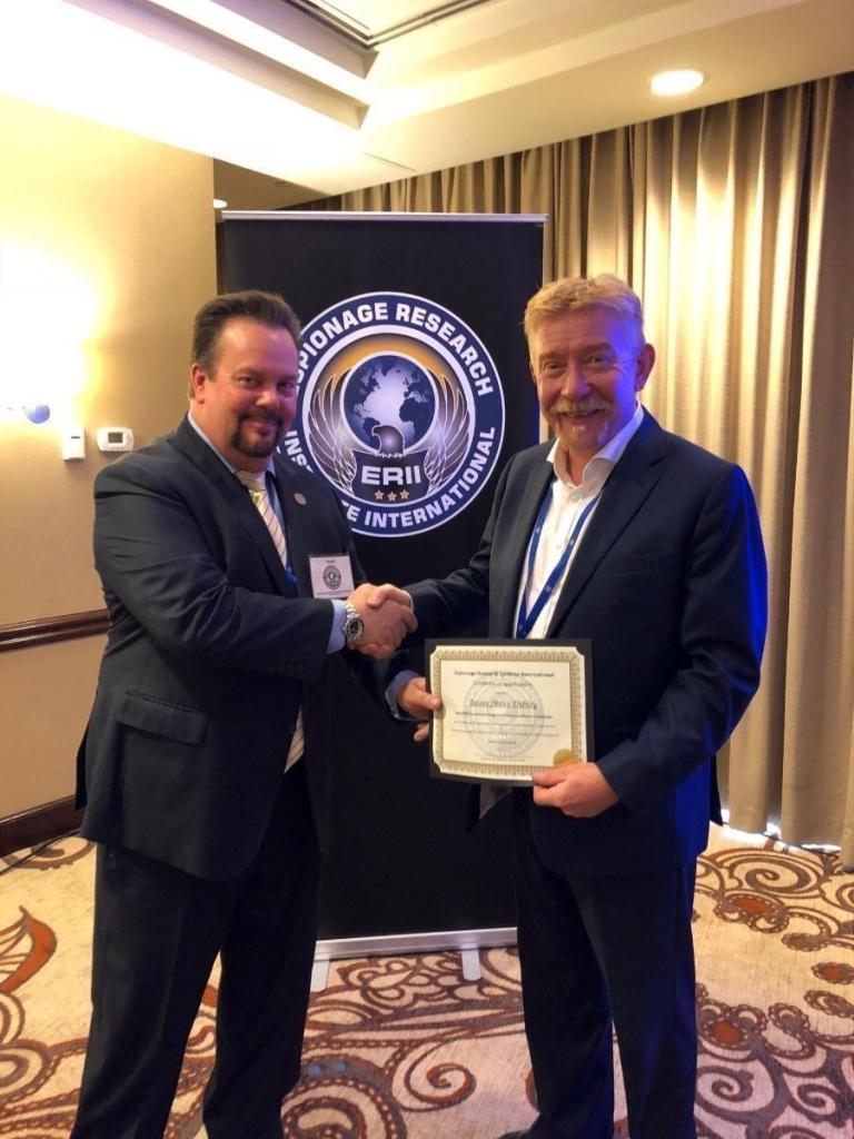 ERII Award - Jason Dibley