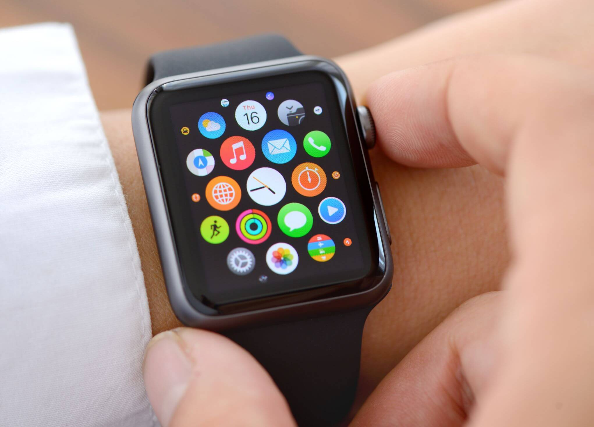 Eavesdropping Apple Watch
