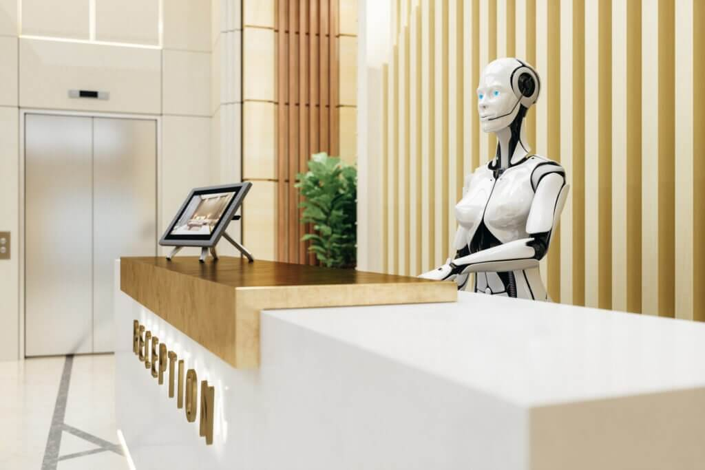 Smart Robot Assistant On Reception