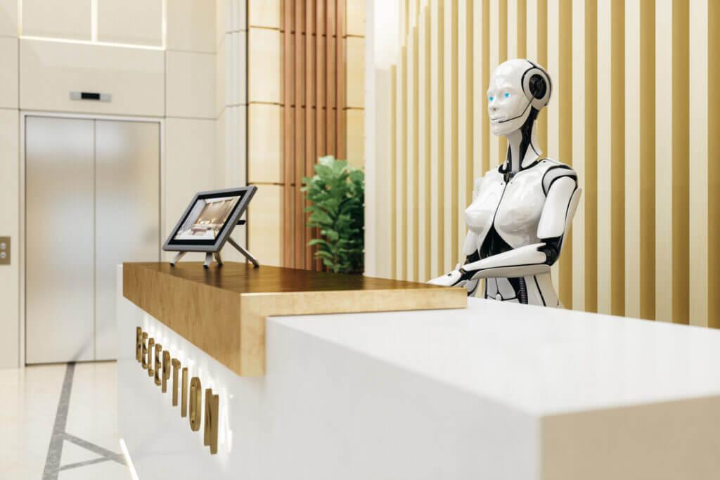 Smart Robot Assistant On Reception